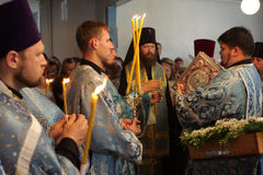 Rostislav - arcivescovo di Tomsk e di Asino Fotografia Stock Libera da Diritti