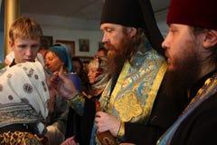 Rostislav confía la ceremonia Imágenes de archivo libres de regalías