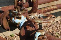 A plumbing tune wheel royalty free stock image