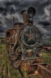 Rostlokomotive Lizenzfreie Stockfotografie