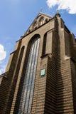 ROSTOCK, ALEMANIA - CIRCA 2016: Iglesia del ` s de St Mary que se puede encontrar en la ciudad vieja de Rostock en Alemania imagen de archivo