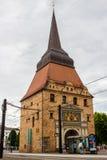 ROSTOCK, ALEMANIA - CIRCA 2016: St Nicholas Church en Rostock, Alemania, Europa fotos de archivo libres de regalías