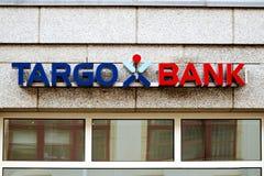 Rostock, Alemania - 22 de agosto de 2016: Banco de Targo Foto de archivo