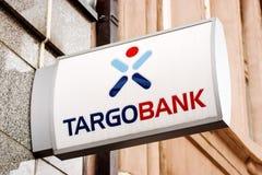 Rostock, Alemania - 22 de agosto de 2016: Banco de Targo Imagen de archivo