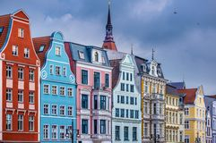 Rostock Allemagne Photo libre de droits