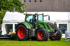 ROSTOCK, GERMANY - AUGUST 2016: agricultural tractor FENDT 828 Vario Royalty Free Stock Photo