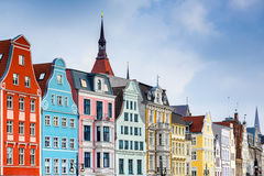 Rostock Germany Buildings Stock Image