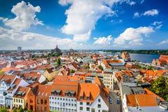 Rostock Germany Skyline Stock Photo