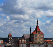 Rostock Panorama Stock Images