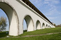 rostokino мост-водовода Стоковая Фотография