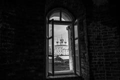 rostov Ρωσία Εικόνα της αρχαίας πόλης του Ροστόφ, άποψη Στοκ εικόνα με δικαίωμα ελεύθερης χρήσης
