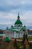 rostov Ρωσία Εικόνα της αρχαίας πόλης του Ροστόφ, άποψη Στοκ φωτογραφία με δικαίωμα ελεύθερης χρήσης