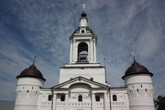 Rostov. Avraamiev Epiphany Convent. Royalty Free Stock Photo