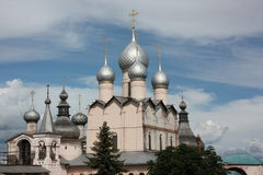 Rostov. Church of the Resurrection of Our Lord. Royalty Free Stock Images