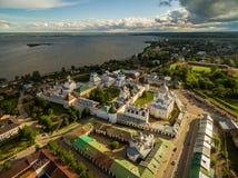 Rostov den stora kremlinen arkivfoto