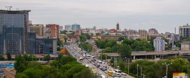 Rostov On Don, Россия - 18-ое мая 2018: Взгляд города Rostov On Don Россия Стоковые Фото