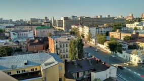 Rostov-on-Don. City view, night and evening stock photo