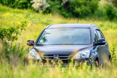 ROSTOV-ON-DON, RUSIA - CIRCA 2017: Honda CR-V Imágenes de archivo libres de regalías
