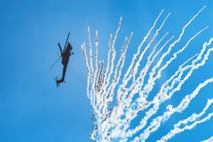 ROSTOV-ON-DON, RUSSIA - AUGUST, 2017: Mi-28 Havoc Royalty Free Stock Images