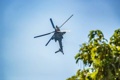 ROSTOV-ON-DON, RUSSIA - AUGUST, 2017: Mi-28 Havoc Stock Images