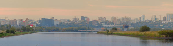 Rostov-on-Don. Russia. Panarama Stock Images
