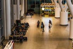 ROSTOV-ON-DON, RUSSIE - 28 AVRIL 2018 : Intérieur d'aéroport de Platov Photographie stock