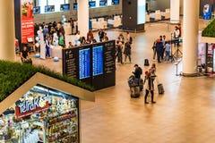 ROSTOV-ON-DON, RUSSIE - 28 AVRIL 2018 : Intérieur d'aéroport de Platov Images stock