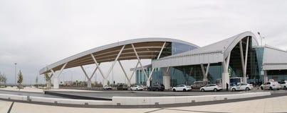Rostov-On-Don Ryssland - September 11, 2018: Flygplats Platov, buil arkivfoto