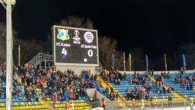 Rostov FC - Sparta Praga Imagen de archivo libre de regalías