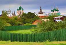 Rostov the Great - ancient small Russian town Royalty Free Stock Photography