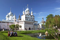 Rostov The Great. Holiday in Rostov Kremlin Royalty Free Stock Photography