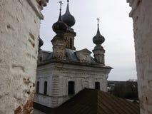 Rostov the Great Kremlin in winter, Golden ring, Yaroslavl region, Russia stock photos