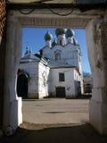 Rostov the Great Kremlin in winter, Golden ring, Yaroslavl region, Russia stock photography