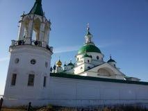 Rostov the Great Kremlin in winter, Golden ring, Yaroslavl region, Russia royalty free stock photos