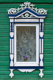 Rostov the Great. Window with carved architraves Royalty Free Stock Image