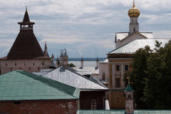 Rostov Groot, het Kremlin Stock Foto