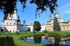 Rostov het Kremlin Royalty-vrije Stock Afbeelding