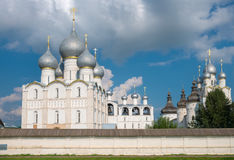 Rostov het Kremlin Stock Fotografie