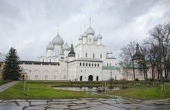 Rostov het Kremlin Royalty-vrije Stock Afbeeldingen