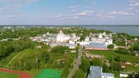 Rostov het Kremlin, Rusland stock videobeelden