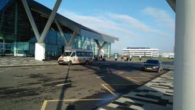 Rostov internationell flygplats Platov Royaltyfria Bilder