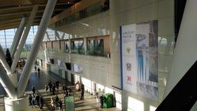 Rostov internationell flygplats Platov Arkivbilder