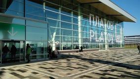 Rostov internationell flygplats Platov Royaltyfri Fotografi