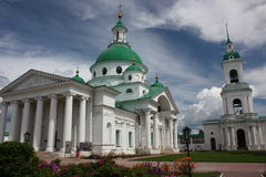Rostov. Kloster. Domkyrka Dimitri av Rostov. Arkivbilder