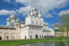 Rostov Kreml (den guld- cirkeln) Royaltyfri Foto