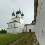 rostov kremlin Золотое кольцо России стоковые фото