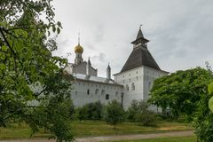 rostov kremlin Золотое кольцо России стоковые изображения