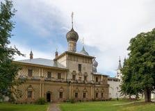 rostov kremlin Золотое кольцо России стоковое изображение rf