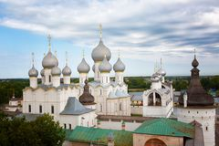 Rostov Kremlin Lizenzfreie Stockfotografie