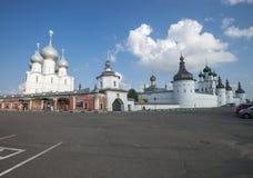 Rostov Kremlin fotografia stock libera da diritti